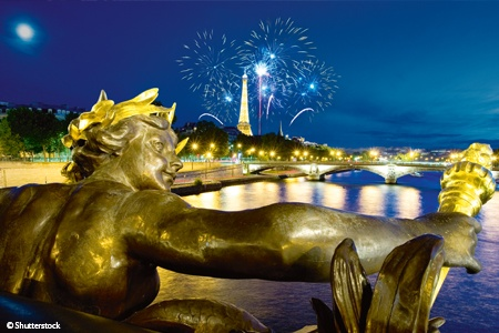 Parisian New Year on the Seine (port-to-port cruise)