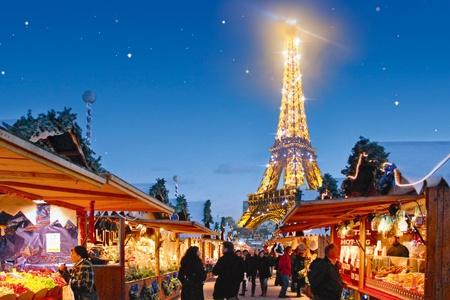 Ambiente Navideño en el corazón de París