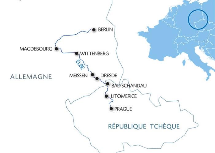 Croisière De Berlin à Prague : croisière sur l'Elbe et la Moldau (formule port/port) - 10