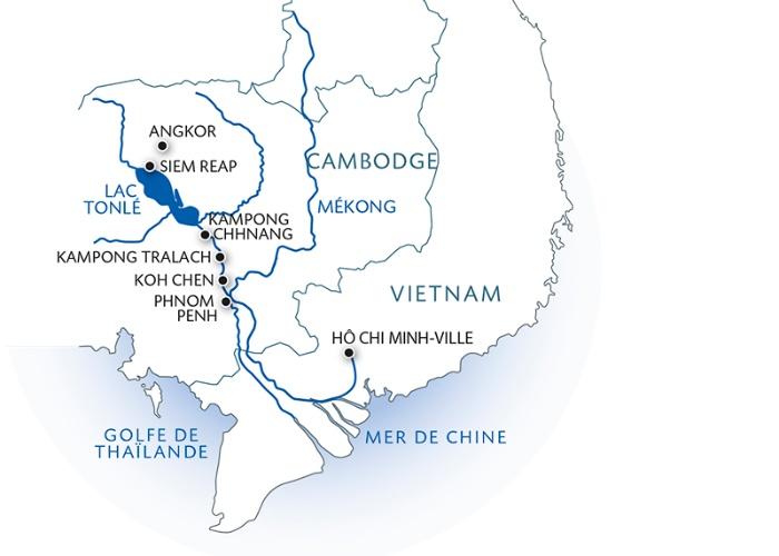 Croisière Des temples d'Angkor au delta du Mékong - 15