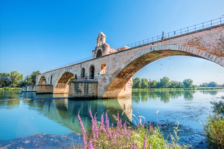 The Saône, the Rhône, the Camargue and the gateway to Provence (port-to-port cruise)