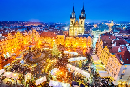 Holiday Cheer Along the Elbe River (port-to-port cruise)
