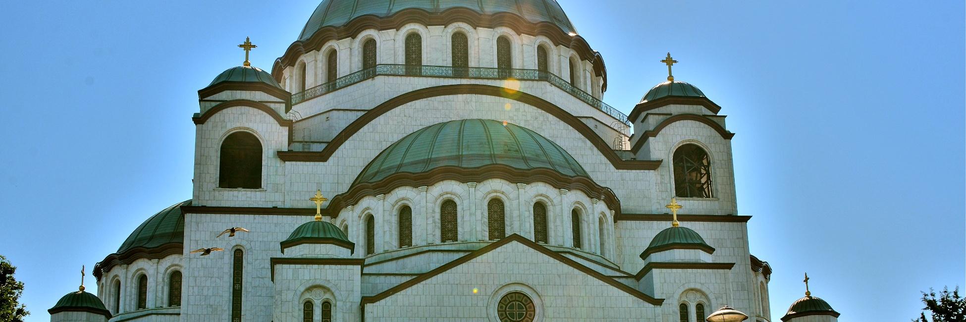 Eglise saint-sava à Belgrade