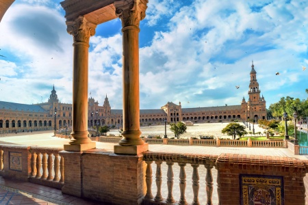 Amazing Andalusia: Enchanting Villages, Traditional Architecture, and Fabulous Cuisine (port-to-port cruise)