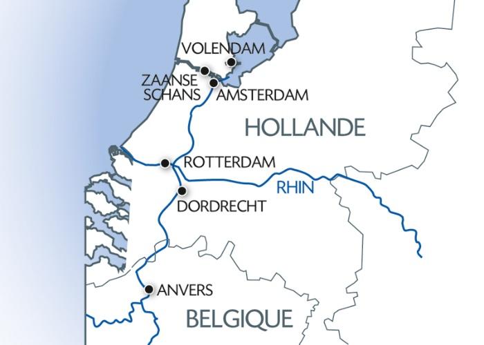 Croisière La Hollande, pays des tulipes (formule port/port) - 7