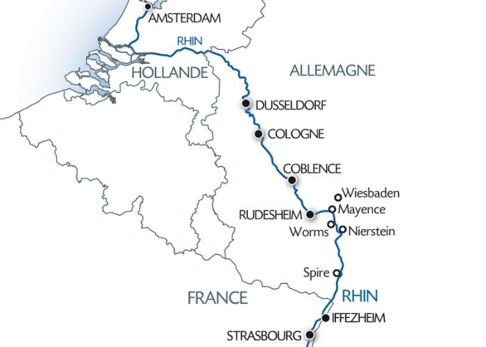 Croisière La vallée du Rhin romantique et la Hollande (formule port/port) - 8
