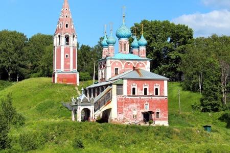 Eglise du prophète elie en Russie