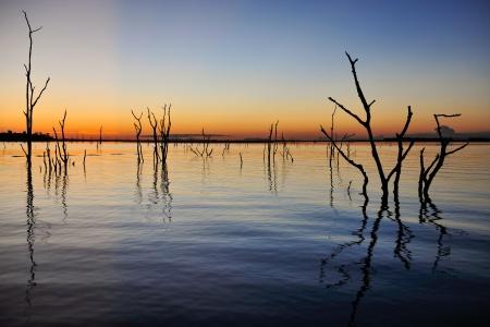 Nuit sur le lac Kariba