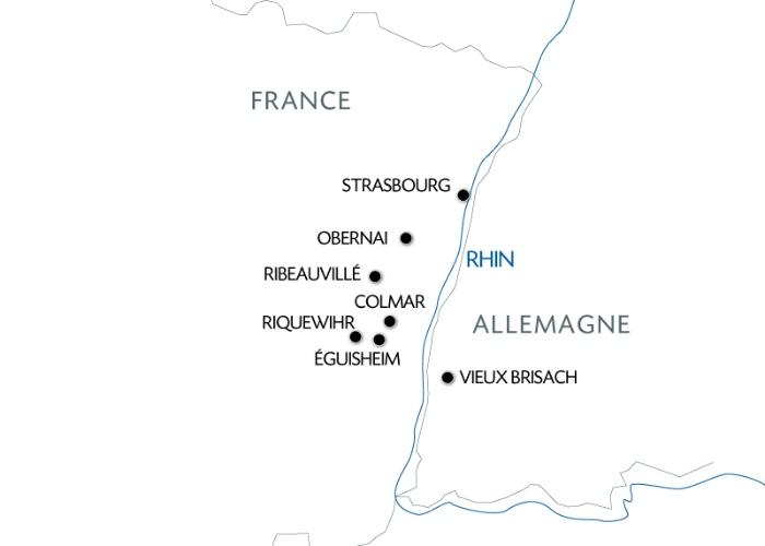 Croisière L'Alsace pittoresque et gourmande (formule port/port) - 7