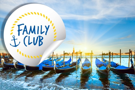 From the Canals of Venice to Renaissance-infused Mantua (port-to-port cruise)-Family