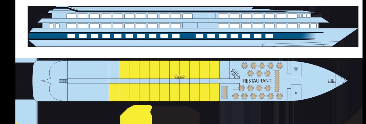 Plan du pont principal