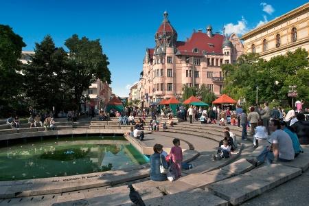 Szeged en hongrie