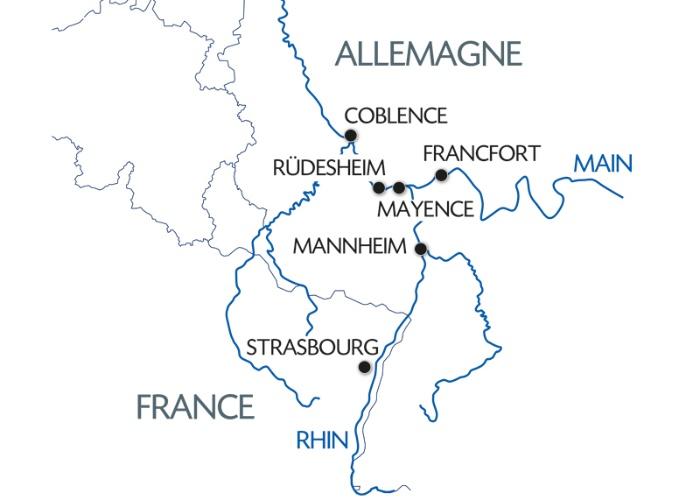 Croisière 3 fleuves : le Rhin, la Moselle et le Main (formule port/port) - 8
