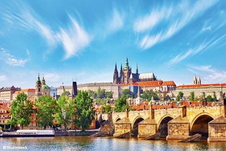 Prague et le beau Danube bleu