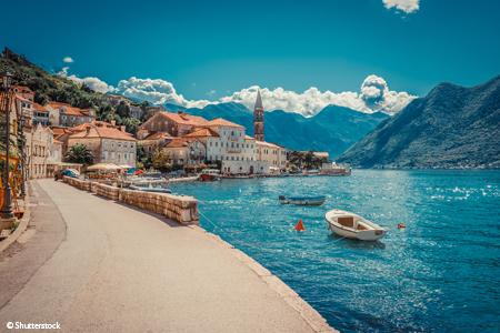 La Croatie et le Monténégro