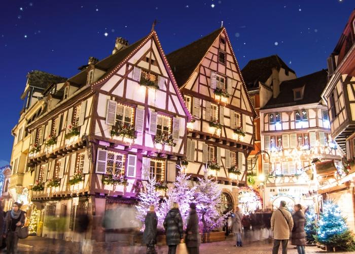 Marchés de Noël en Alsace (formule port/port)