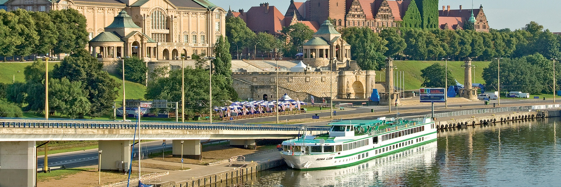 MS Mona Lisa à Szczecin en Pologne