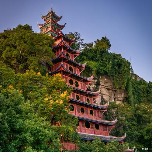 Shibao Pagoda, Chine