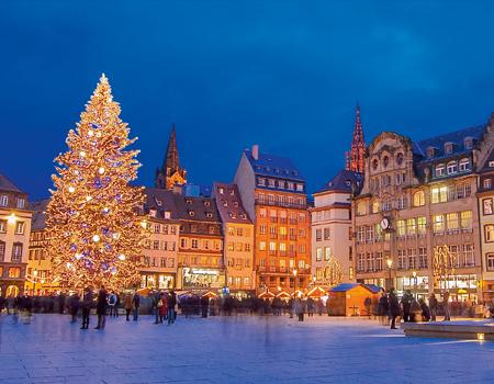 Noël Rhénan : le Rhin supérieur (formule port/port)