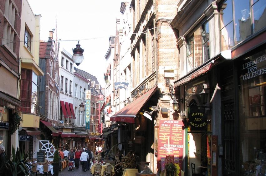 Ruelle à Bruxelles