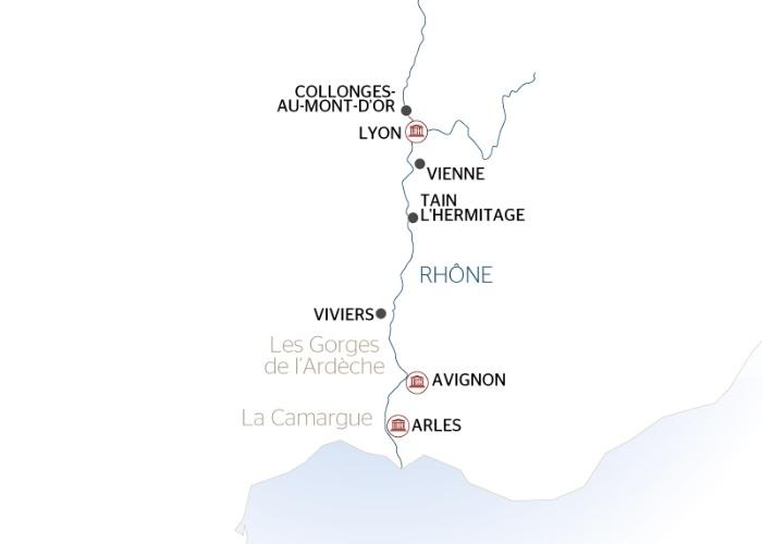 Croisière Escales incontournables du Rhône entre Lyon, la Camargue et la Provence (formule port/port) - 9