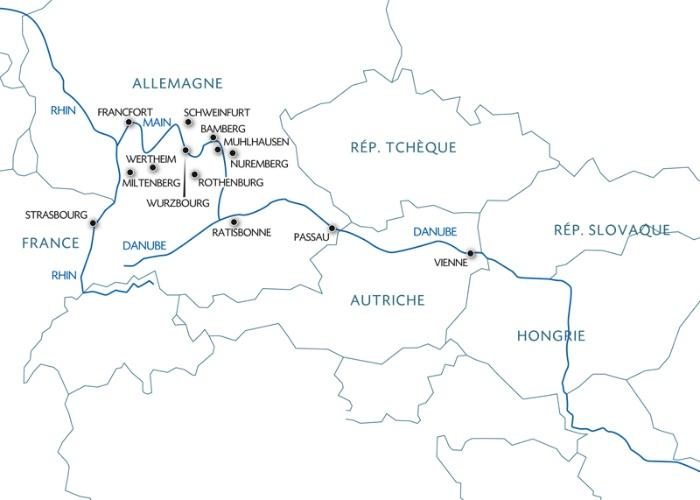 Croisière La route romantique en croisière du Rhin au Danube (formule port/port) - 11