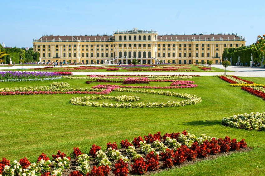 Palais de Schönbrunn en Autriche