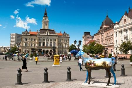 Ville de Novi Sad en Serbie