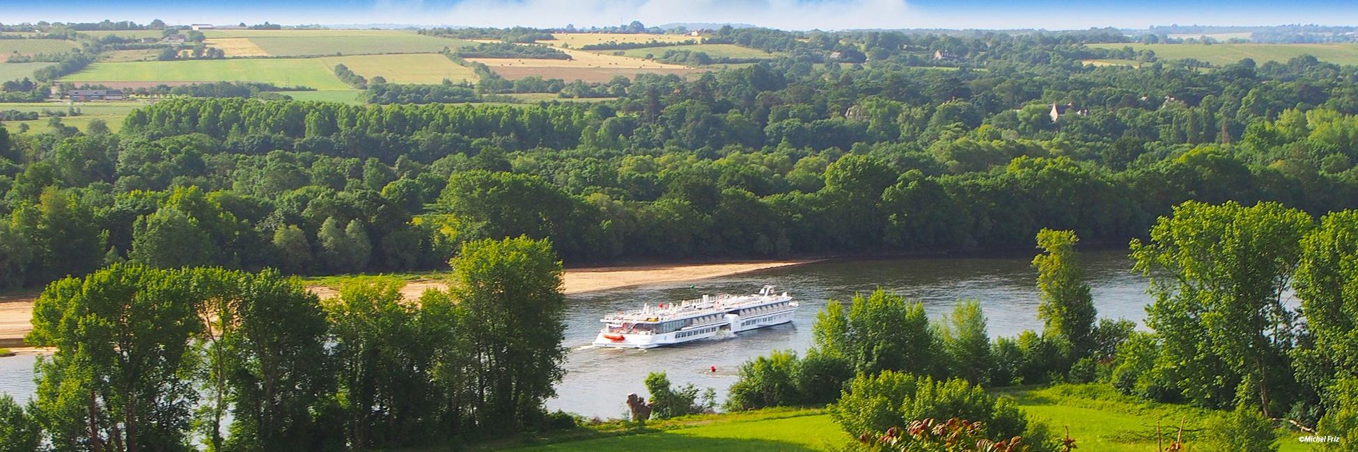 MS Loire Princesse en navigation sur la Loire