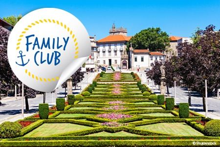 Family Club: From Portugal to Spain, Porto, the Douro Valley and Salamanca (port-to-port cruise)