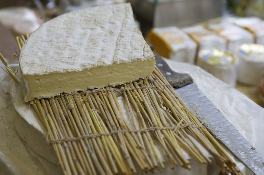 The famous Brie de Meaux cheese
