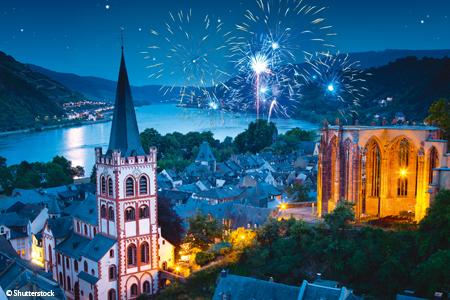 Réveillon Rhénan au fil du Rhin romantique (formule port/port)