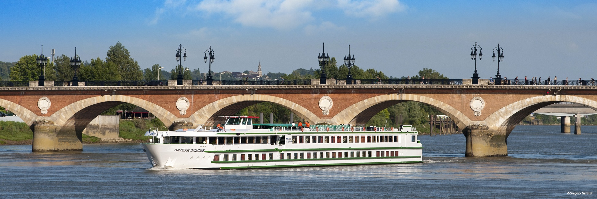 MS Princesse d'Aquitaine en navigation