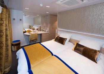 Cabine double lits séparables