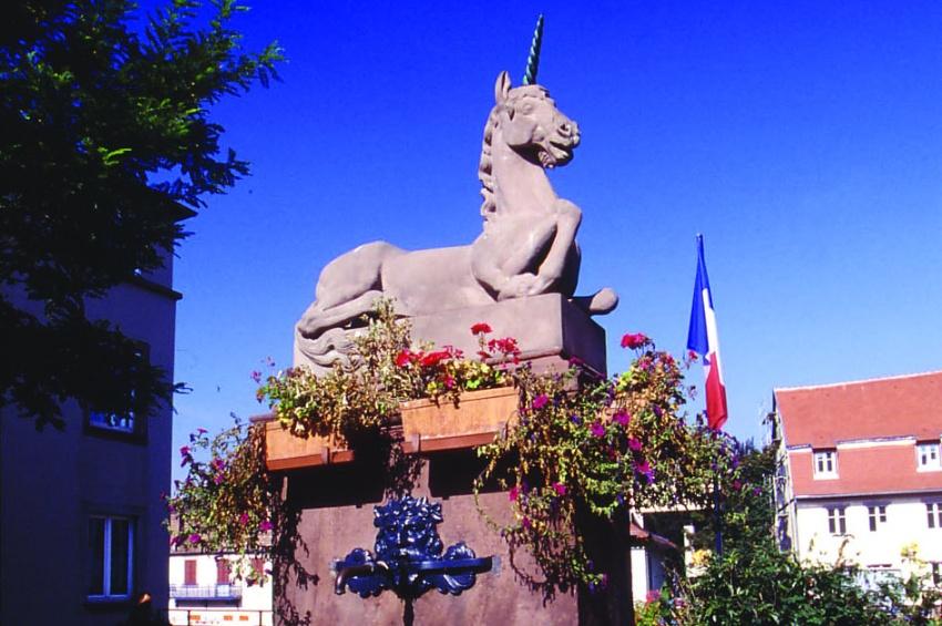 Fontaine de la licorne