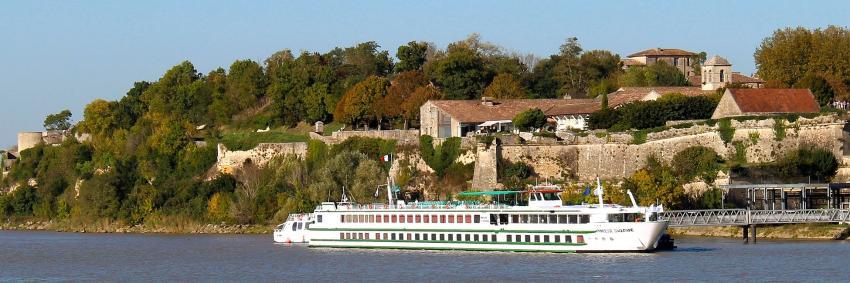 MS Princesse d'Aquitaine à quai