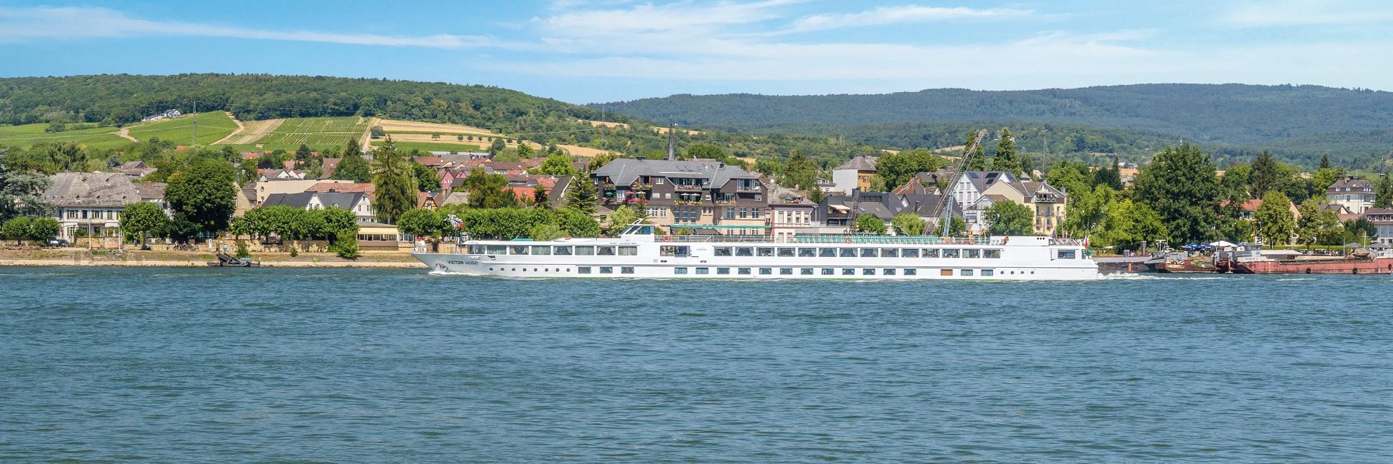 Le Victor Hugo sur le Rhin et le Danube