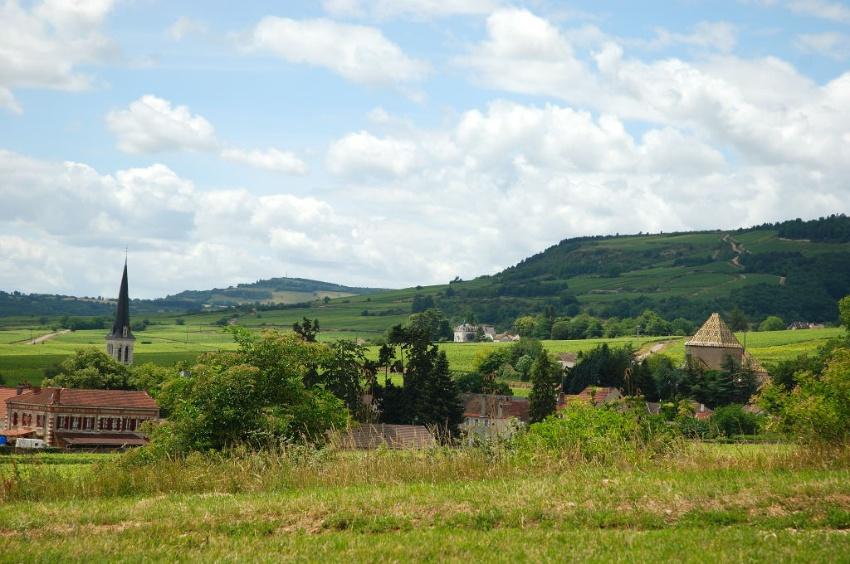 Le pittoresque village de Santenay
