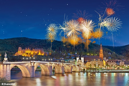 New Year in the Romantic Rhine valley (port-to-port cruise)