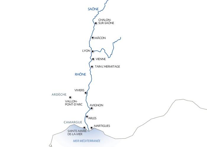Croisière La Saône, le Rhône, la Camargue et les portes de la Provence (formule port/port) - 9