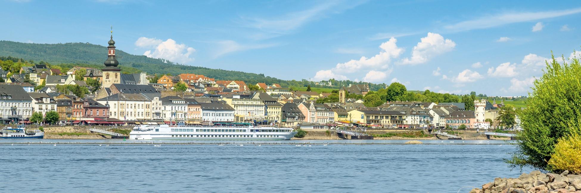 Le MS Monet sur le Rhin et le Danube