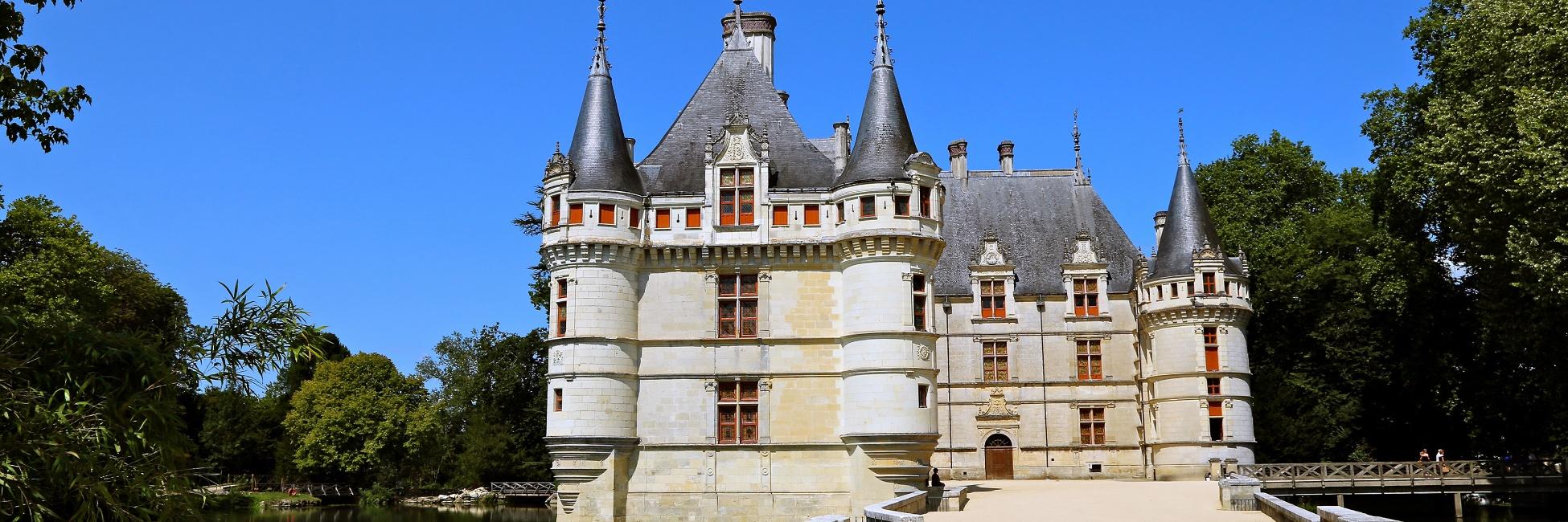 Journ e d 39 excursion aux ch teaux de la loire croisieurope - Chateau de la loire azay le rideau ...