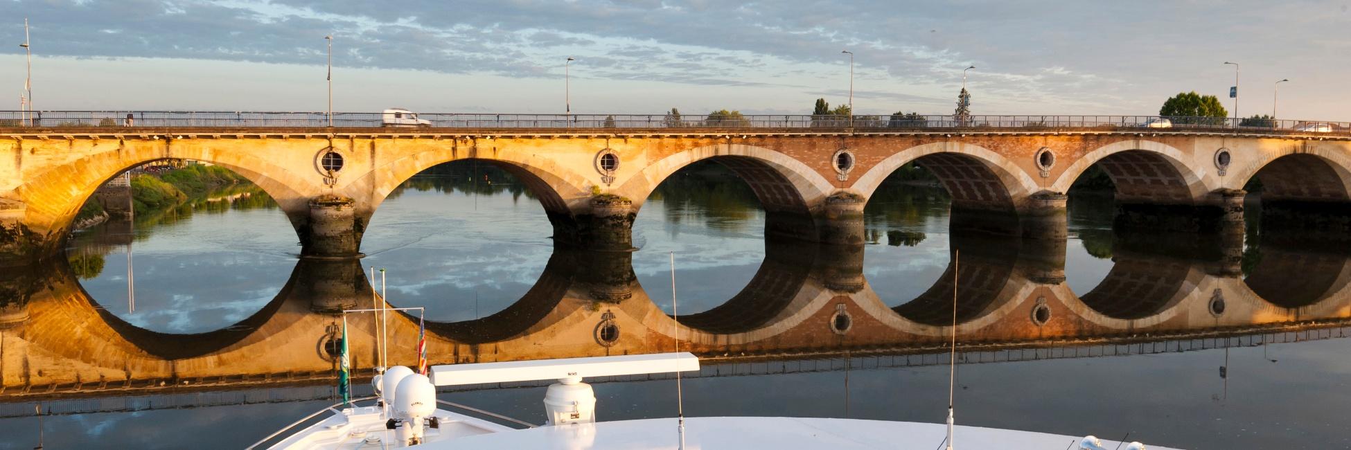 Pont de Libourne en gironde