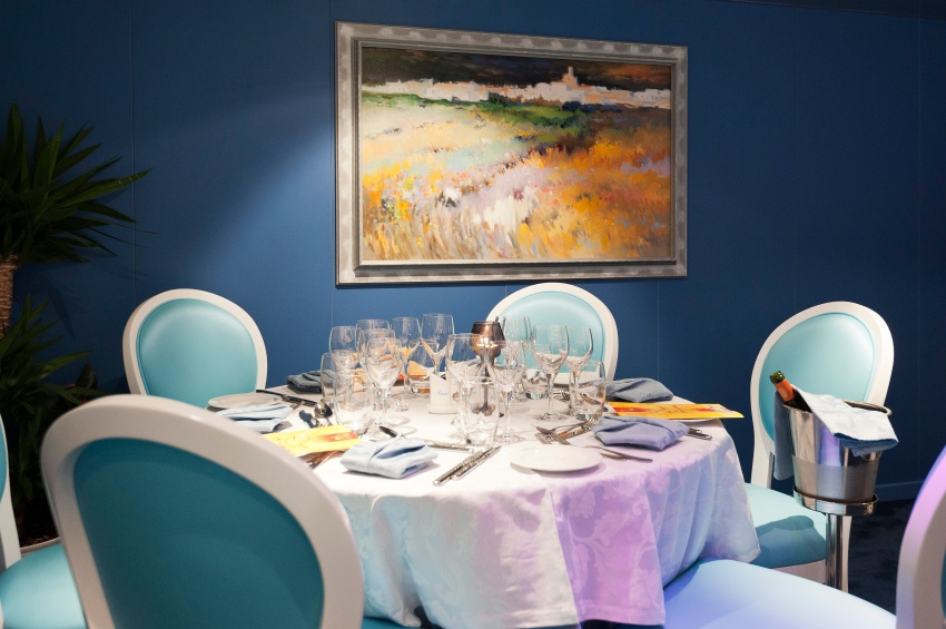 Restaurant du MS Cyrano de Bergerac