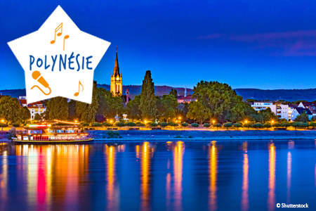 Week-end Spectacle sur le Rhin Antilles/ Polynesie