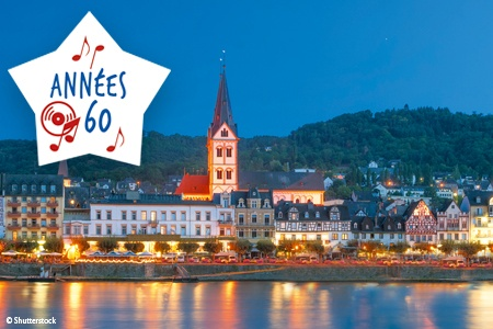 Croisière sur le Rhin : Les Années 60