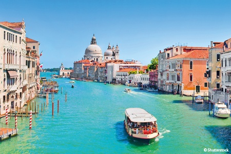 VENICE, THE LAGOON ISLANDS AND THE PÔ DELTA (PORT-TO-PORT CRUISE) - NEW