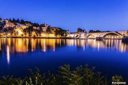 Réveillon dans la vallée du Rhône (formule port/port)