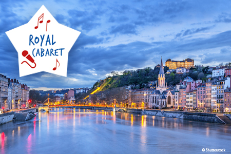 Week-end Spectacle sur le Rhône : Royal Cabaret