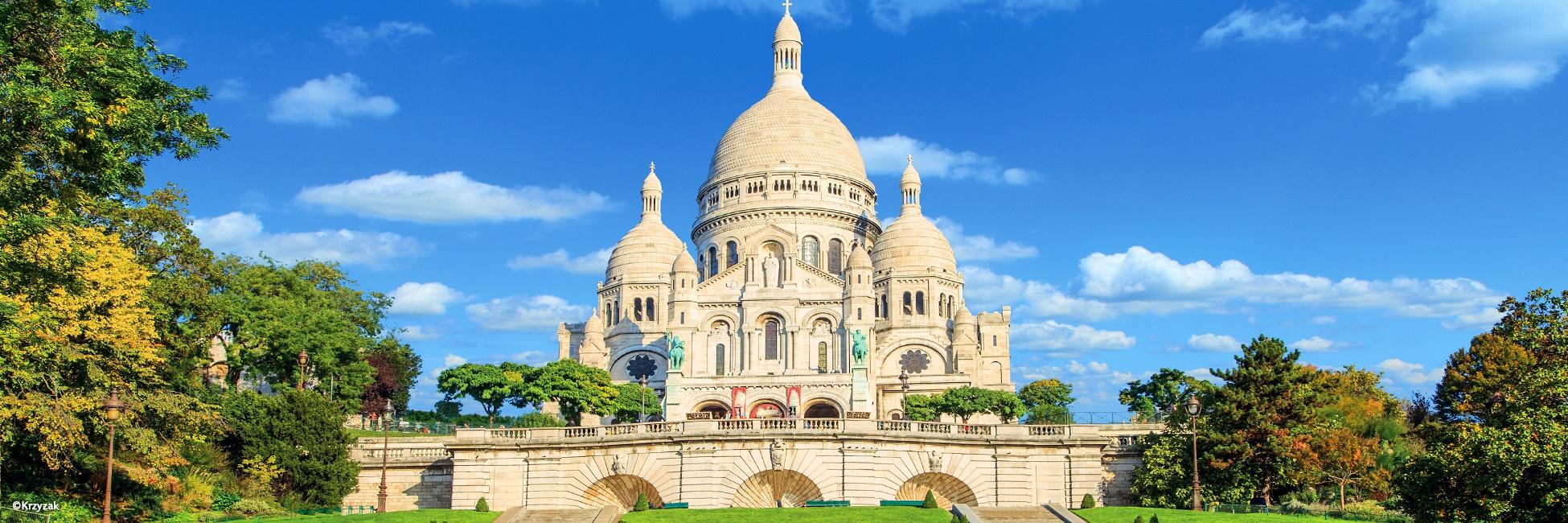 Basilique du Sacré-Cœur, Montmartre, Paris